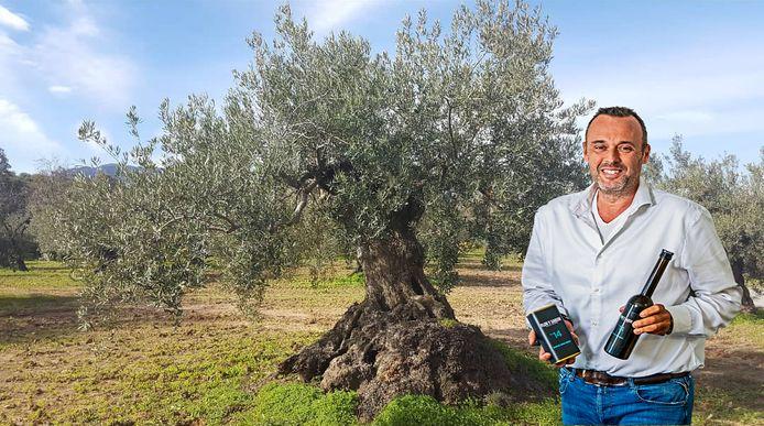 Michiel Drijver van Flor Y Sabor: ,,De Moren plantten deze olijfbomen al 1300 jaar geleden. En ze staan er nog!''