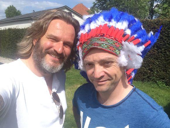 Kurt Burgelman met Buffalo Miguel Wiels