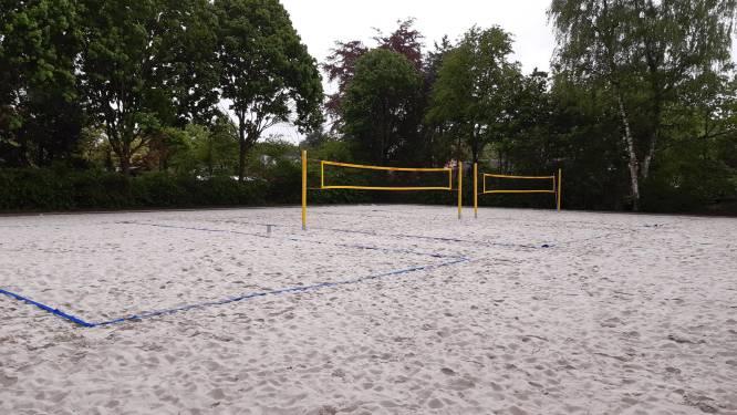 Nieuwe beachsportterreinen klaar voor gebruik