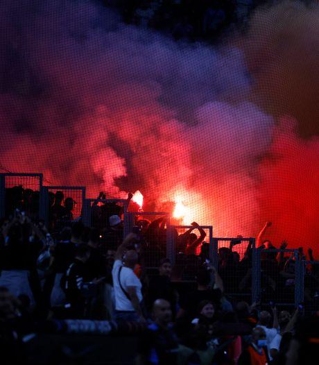 Weer supportersgeweld bij Olympique Marseille: 'Een nieuwe droevige episode'