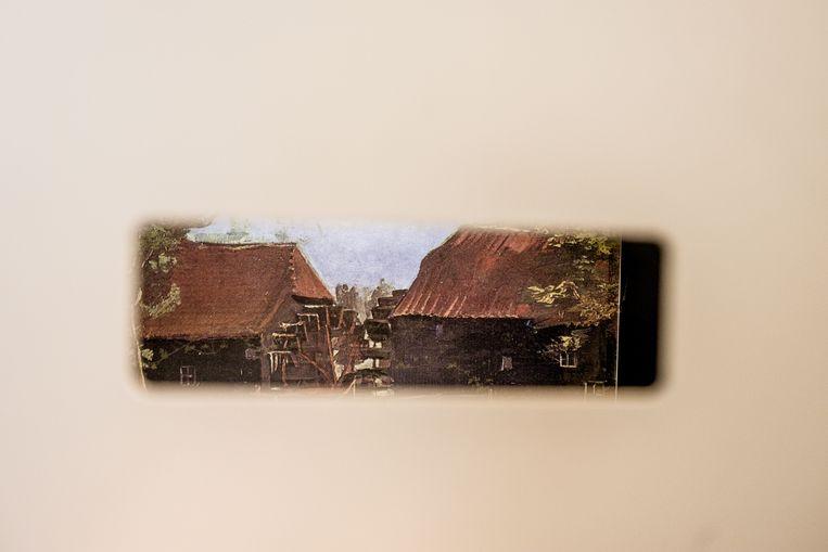De Collse watermolen ziet er vandaag nog net zo uit als toen Van Gogh hem vereeuwigde in mei 1884.  Beeld Hans Avontuur