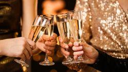 Belgen vijfde grootste champagnedrinkers ter wereld