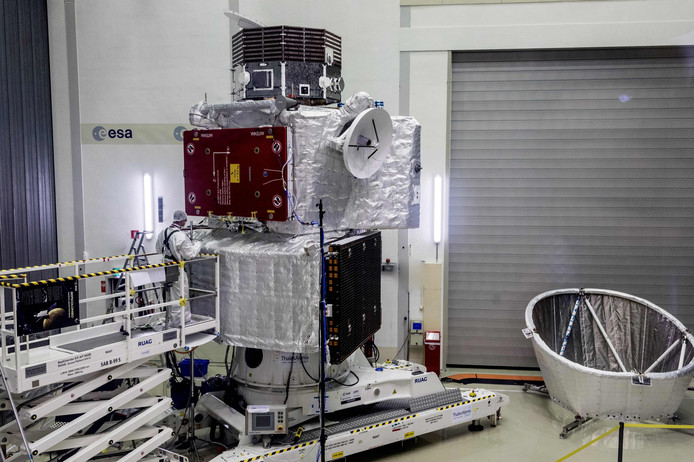 De Europese satelliet.