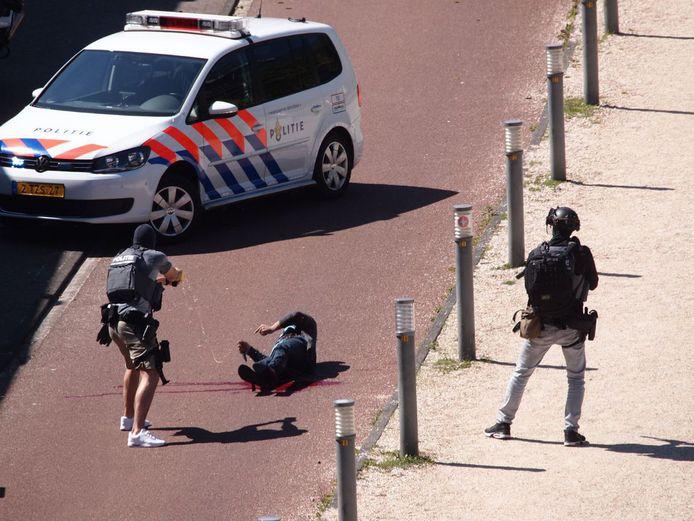 Malek F. werd neergeschoten tijdens zijn arrestatie.