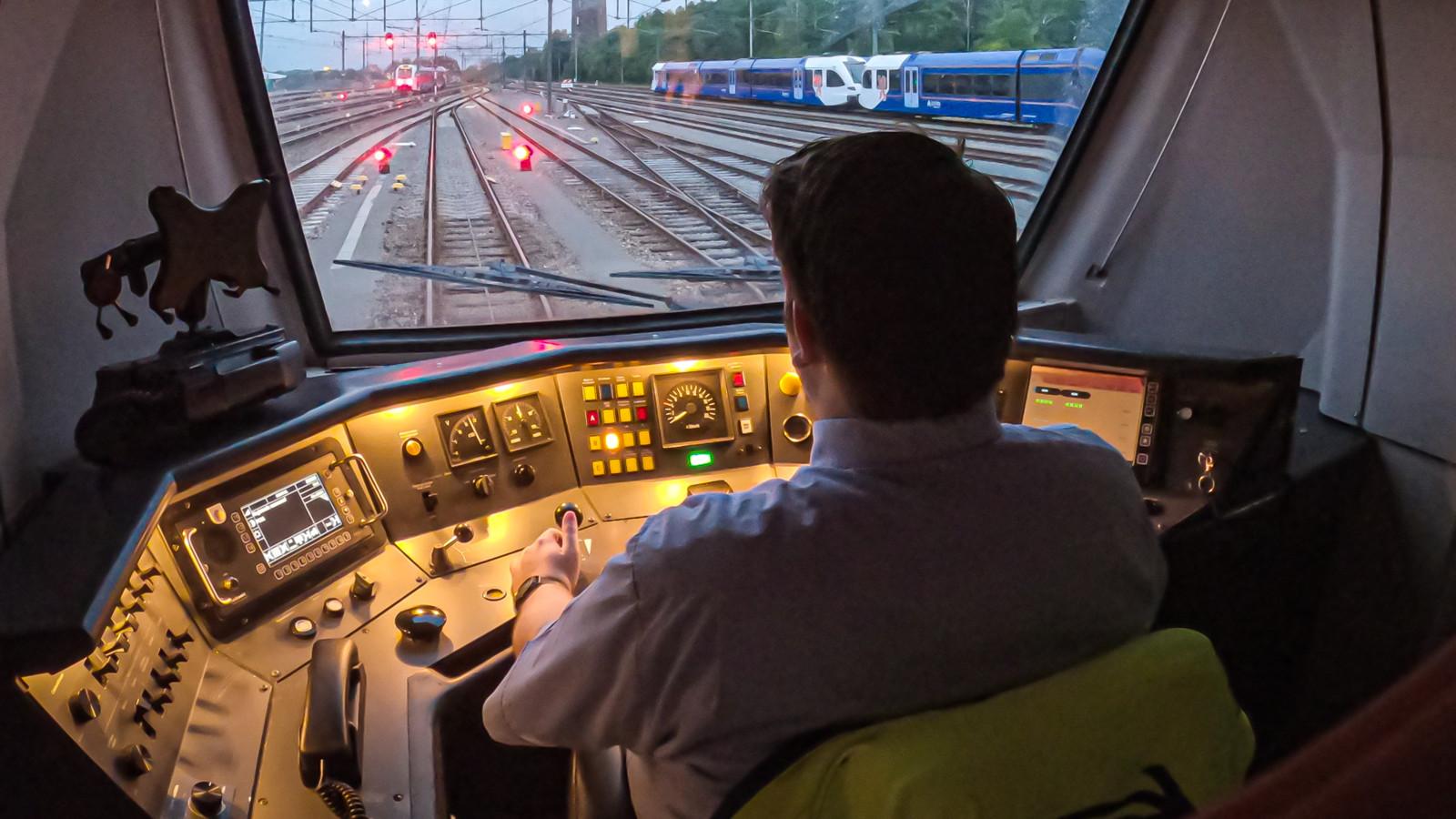 Machinist Mart geeft bijzonder inkijkje in het leven als treinmedewerker.