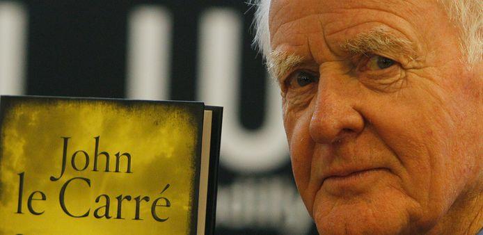 John le Carré, en 2010