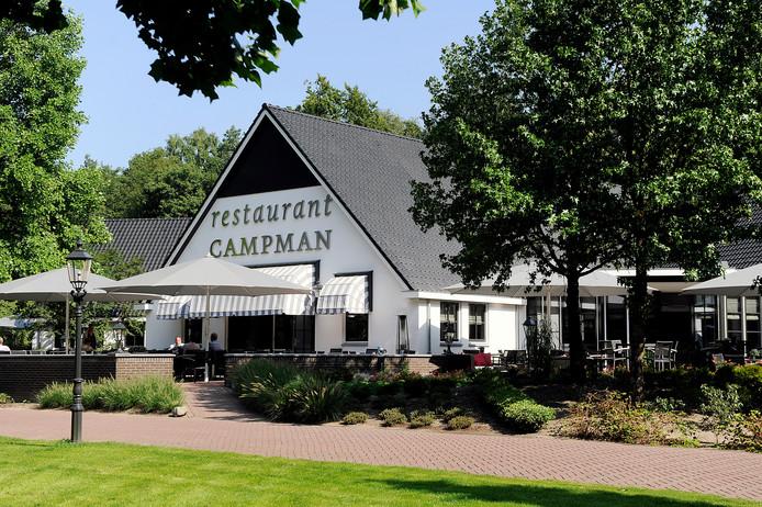 Restaurant Campman, in de bossen tussen Renkum en Wageningen.
