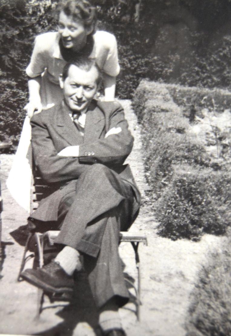 Joop en Lies Piller, foto uit circa 1952. Beeld Privéfoto familie Piller