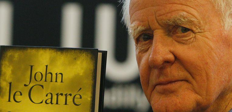 Voordat John le Carre faam verwierf als thrillerauteur werkte de Brit voor zowel MI5 als MI6.  Beeld AP