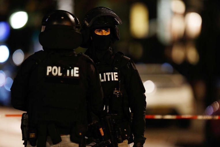 Een speciale interventie-eenheid pakte de man gisteravond op in Rotterdam. (archieffoto)