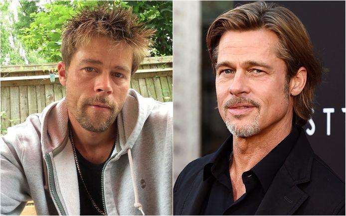Nathan Meads en Brad Pitt
