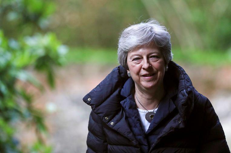 'Theresa May voerde zelf campagne tegen de brexit en wil nu een verregaande brexit doorvoeren. Daarbij verschuilt ze zich achter het resultaat van het referendum én ze stelt die oplossing voor als een manier om het land te verenigen. Zo verliest ze alle geloofwaardigheid.' Beeld REUTERS