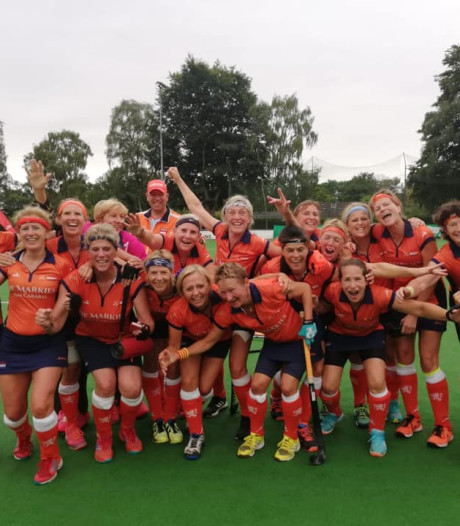 EK-brons voor hockeyteam 55+ met speelsters HC Den Bosch