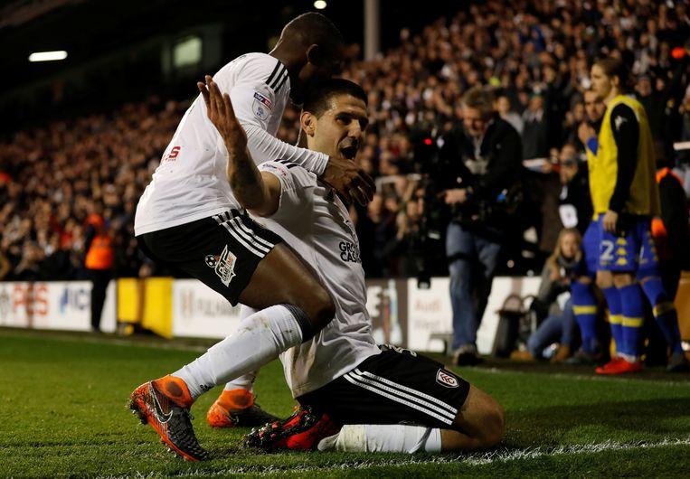 Mitrovic was alweer trefzeker voor Fulham.