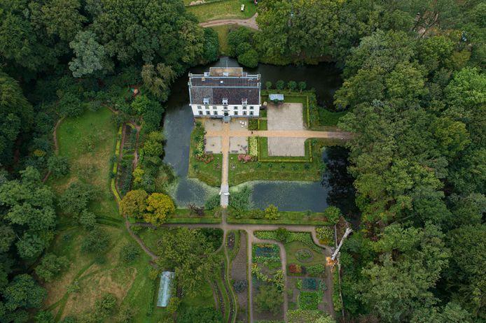 De havezate op landgoed De Oldenhof.