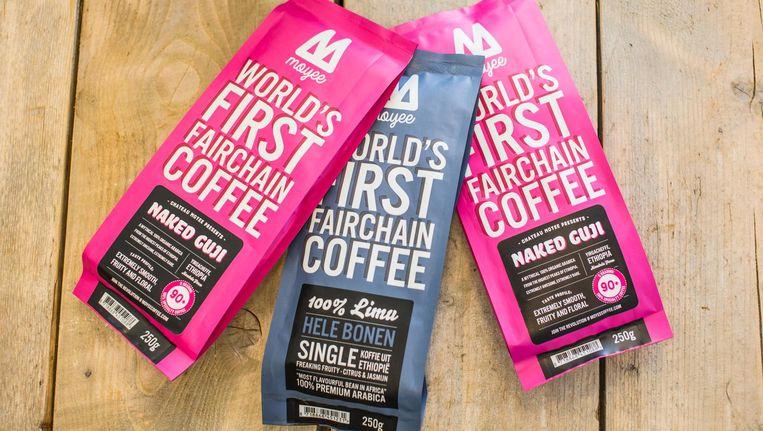 Op den duur wil Moyee over gaan op zeecontainers om de koffie vanuit Ethiopië te exporteren Beeld Eva Plevier