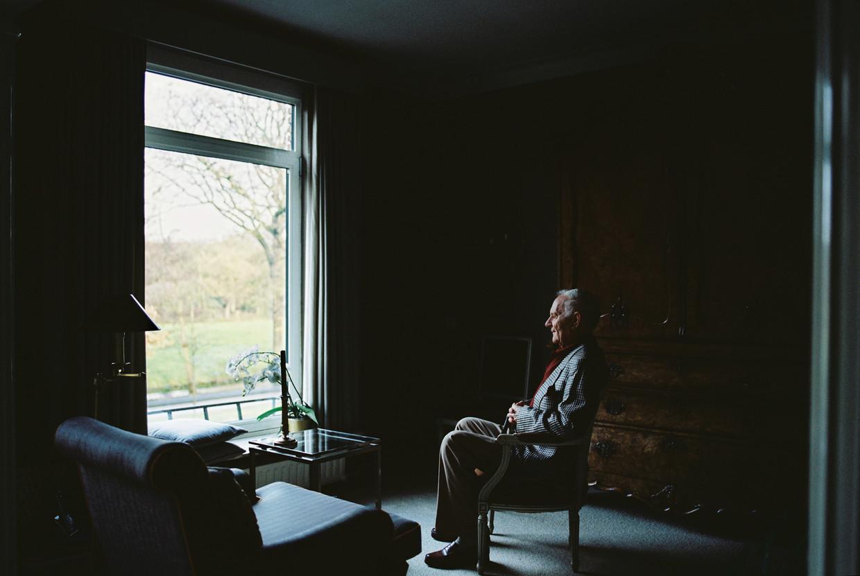 Kees Kentie zou liever vandaag dan morgen overlijden. 'Ik ben 87, het wordt nu weleens tijd.'