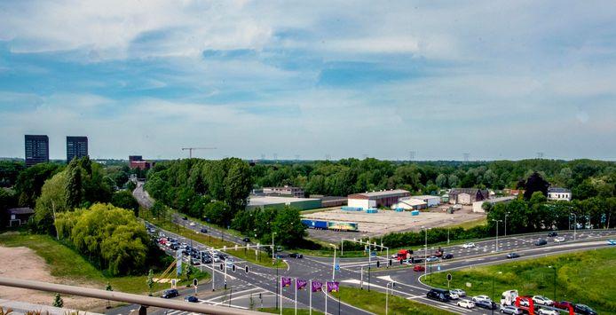 Het geplande distributiecentrum aan de Kempenbaan trek naar verwachting jaarlijks 120.000 vrachtwagens, met als gevolg een enorme stikstofuitstoot.
