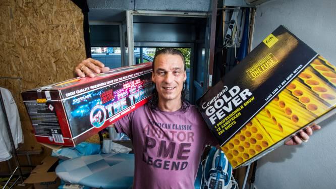 Michel Adam voor én na loopbaan verknocht aan vuurwerk: 'Ik blies een wc-pot op in het Zuiderpark'