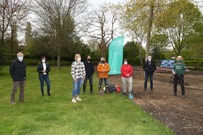 De samentuin in Hove werd gisteren officieel geopend.