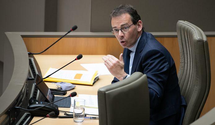 Vlaams minister van Volksgezondheid Wouter Beke (CD&V).