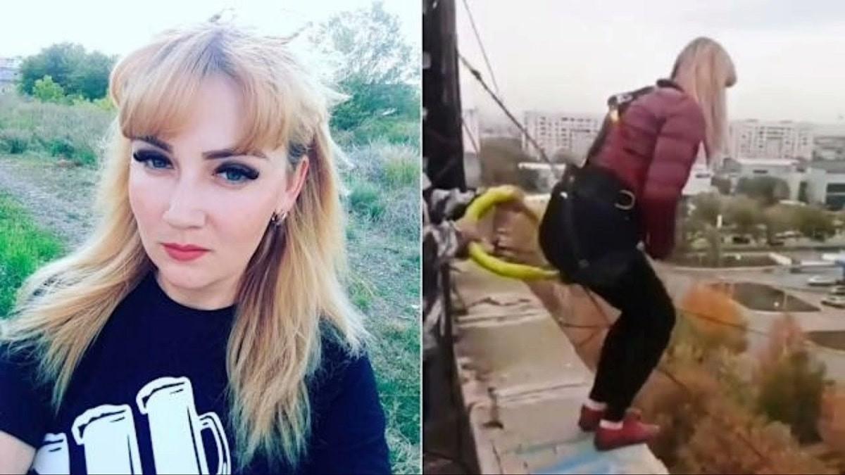 Une mère de famille meurt après une chute de 30 mètres lors d'un saut à l'élastique au Kazakhstan.