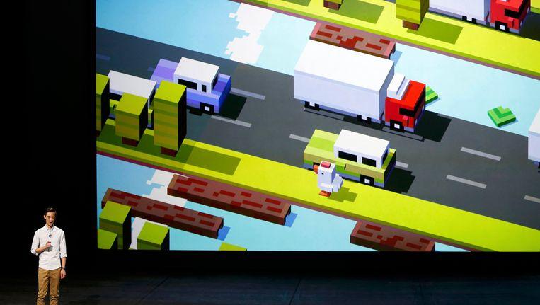 Games op Apple TV. Beeld REUTERS