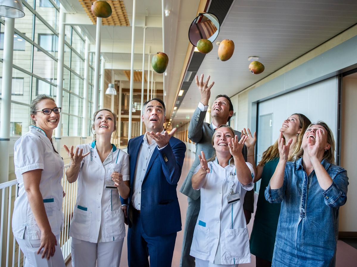 Deze zorgverleners uit Nederland en België gingen rond de tafel: 'We moeten allemaal aan de mango's, maar hoe?'