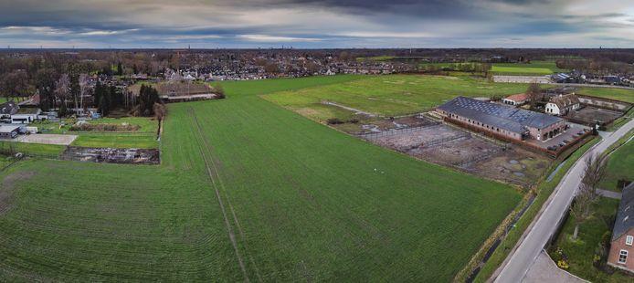 Op de weilanden naast de Heiligenboom heeft de gemeente Oisterwijk een uitbreiding van de wijk Oostelvoortjes gepland.