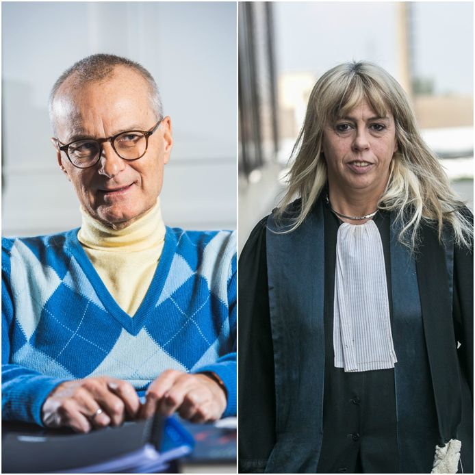 Advocaten Hans Rieder en Marianne Capelle.