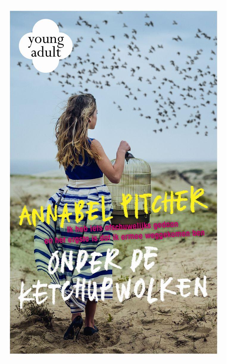 Onder de ketchupwolken, Annabel Pitcher, vertaald door Ellis Post Uiterweer, Moon, €21,99, 12+. Beeld