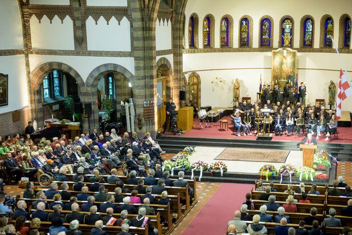 De Stichting Herdenking Brabants Gesneuvelden hoopt iedereen volgend jaar weer fysiek te kunnen ontvangen in Waalre, zoals dat in 2017 ook gebeurde.