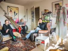 """In afwachting van de sloop bouwen kunstenaars ateliers in woontorens Nieuw Gent: """"En waar het kan helpen we de buren"""""""