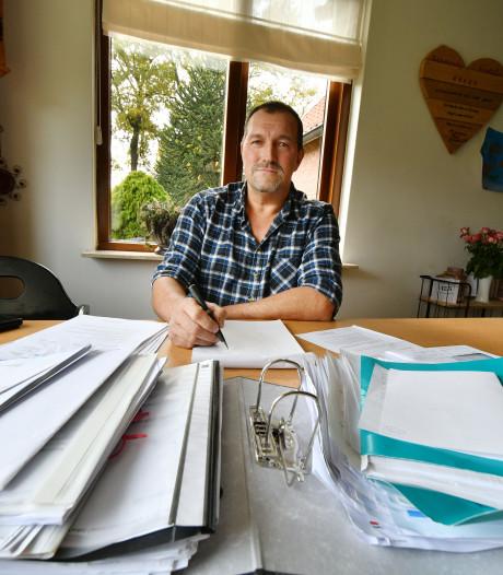 Bouwvakker Ben uit Harbrinkhoek voelt zich belazerd door verzekeraar