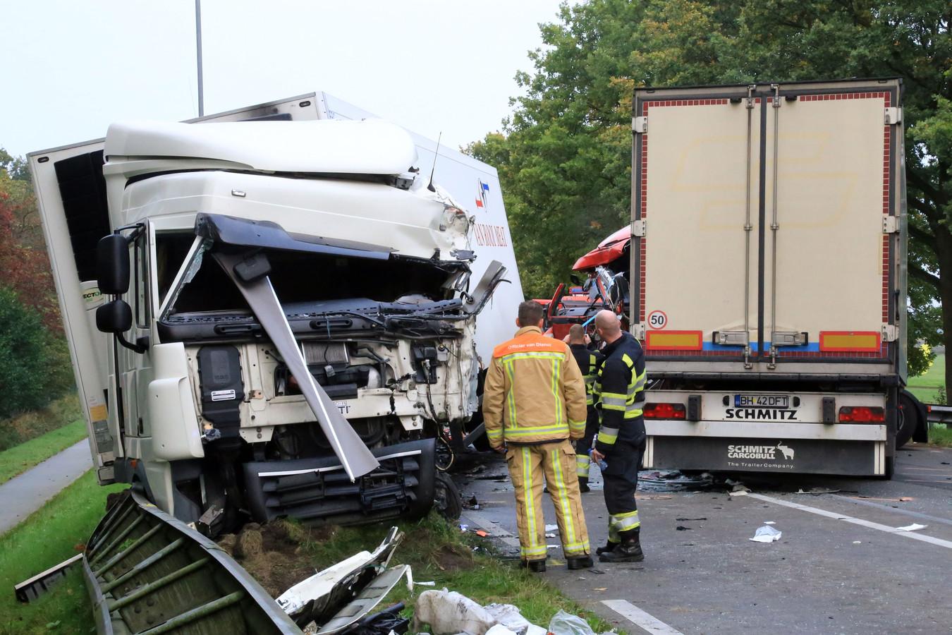 Het ongeluk op de N270 veroorzaakte een ravage, en niet voor de eerste keer.