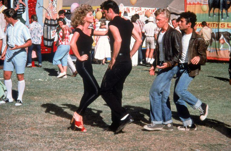 zoeken naar groothandel outlet word nieuw Olivia Newton-John verkoopt haar iconische 'Grease'-outfit ...