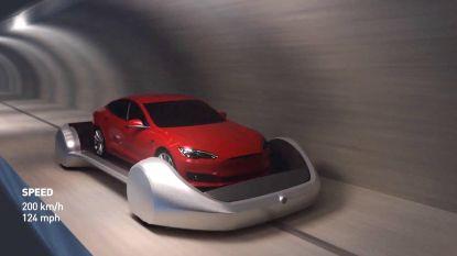 Tunnel van Tesla-baas voor omzeilen files in LA is bijna klaar