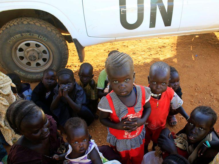 12.000 mensen van de Nuer-stam zochten onderkomen bij de Verenigde Naties.