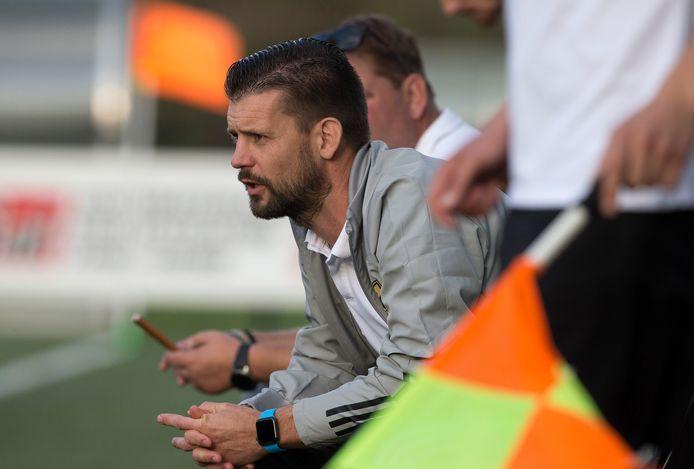 FC Winterswijk-trainer Martijn Beltman.