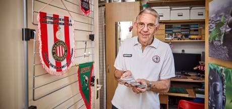 Zelfs hartinfarct houdt John (76) niet weg bij het Kasteel: deze week koopt hij zijn 65e seizoenskaart bij Sparta