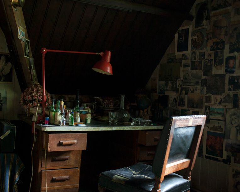 'Schrijven lukt niet meer' Beeld Stefanie Grätz