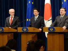 Van Rompuy à Tokyo pour accélérer le libre-échange