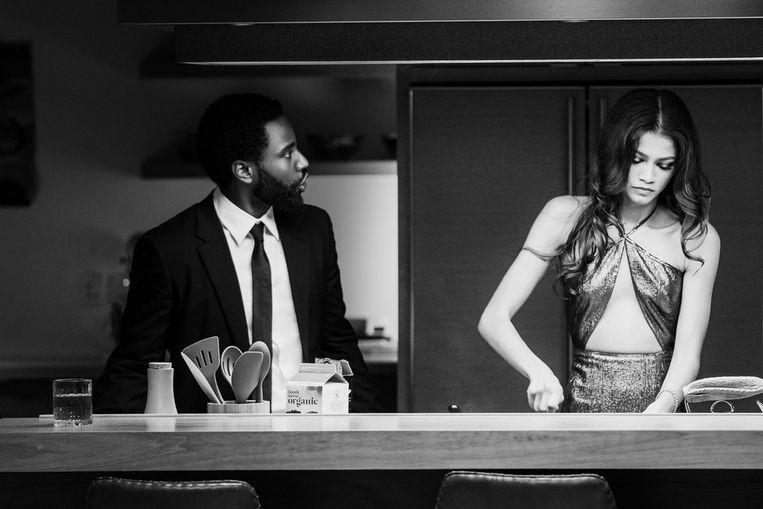 Een scène uit Malcolm & Marie. Beeld Dominic Miller/Netflix