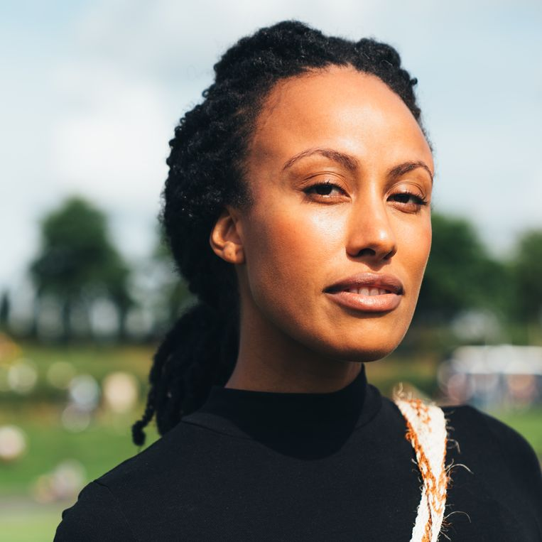 Mavis Appiagyei (28). Beeld Rebecca Fertinel