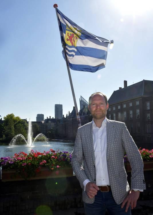 Jim Goedhart van de Zeeuwse Connectie en Zeeuwsevacaturebank.nl