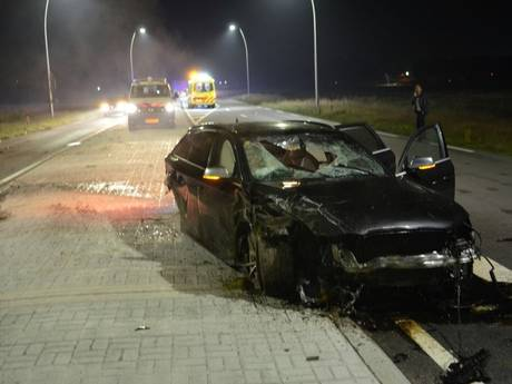 Willebrordse bestuurder (74) gecrashte vluchtauto overleden