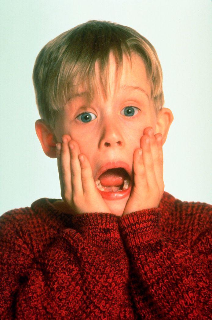Macaulay Culkin in Home Alone.