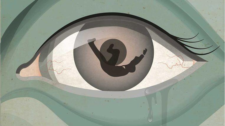 Tijdens een psychose raken mensen tijdelijk de grip op de werkelijkheid kwijt.  Beeld Trouw/Brechtje Rood