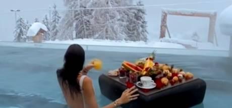 Un époustouflant petit déjeuner dans une station alpine