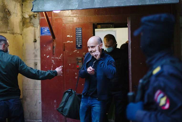 De arrestatie van Pivovarov maakt deel uit van een nieuwe aanval van de regering-Poetin op de oppositie. Beeld AP